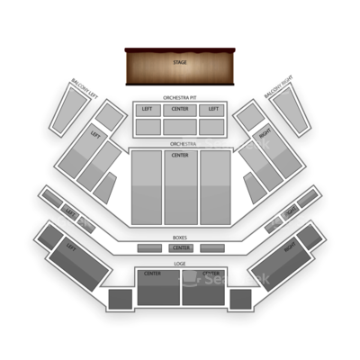 Tilles Center for the Performing Arts seating chart Dinosaur Train Live