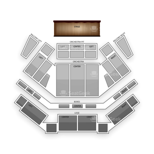 Tilles Center for the Performing Arts Seating Chart Concert