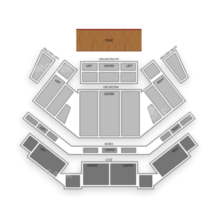 Tilles Center for the Performing Arts Seating Chart Comedy