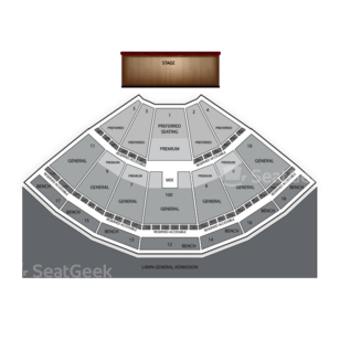 Bethel Woods Center For The Arts Seating Chart Theater
