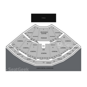 Bethel Woods Center for the Arts Seating Chart Family
