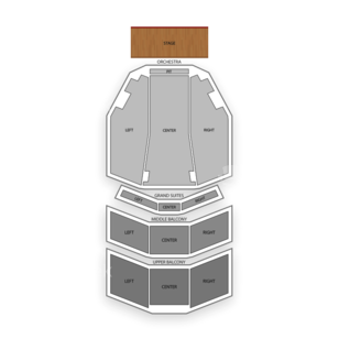Hippodrome at France-Merrick PAC Seating Chart Concert
