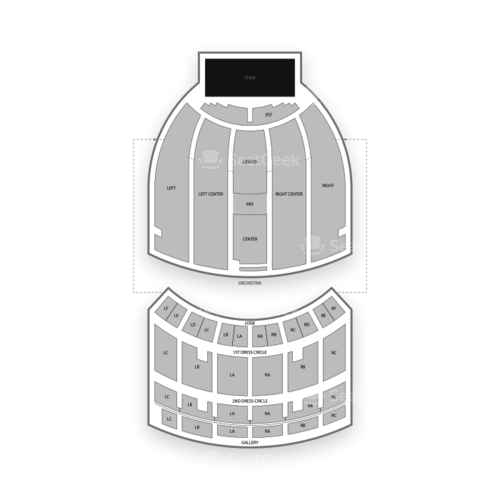 Fox Theatre Atlanta Seating Chart Concert