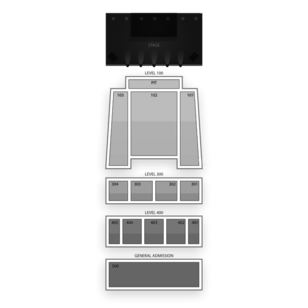 Arvest Bank Theatre at The Midland Seating Chart Comedy