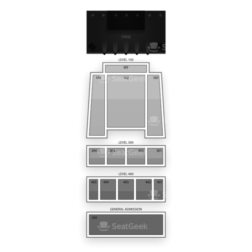 Arvest Bank Theatre at The Midland Seating Chart Concert