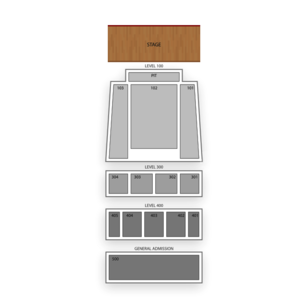Arvest Bank Theatre at The Midland Seating Chart Theater