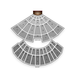 Rosemont Theatre Seating Chart Comedy