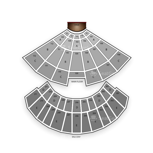 Rosemont Theatre Seating Chart Theater