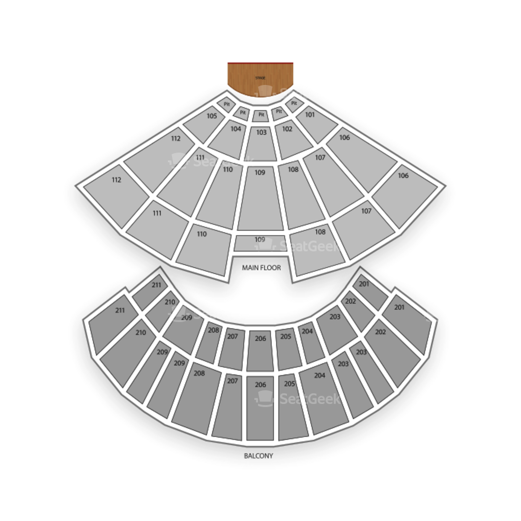 Rosemont Theatre Seating Chart  Interactive Seat Map SeatGeek - Chicago map rosemont