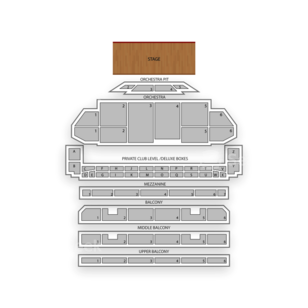 Fabulous Fox Theatre Seating Chart Dance Performance Tour