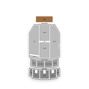 Paramount Theatre Seating Chart Classical