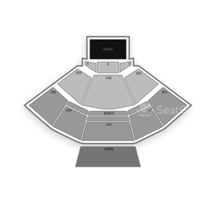 Veterans United Home Loans Amphitheater Seating Chart Music Festival