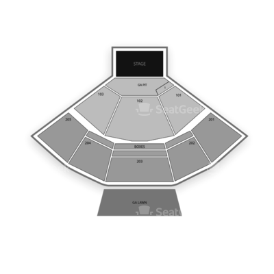 Veterans United Home Loans Amphitheater Seating Chart Zac Brown Band