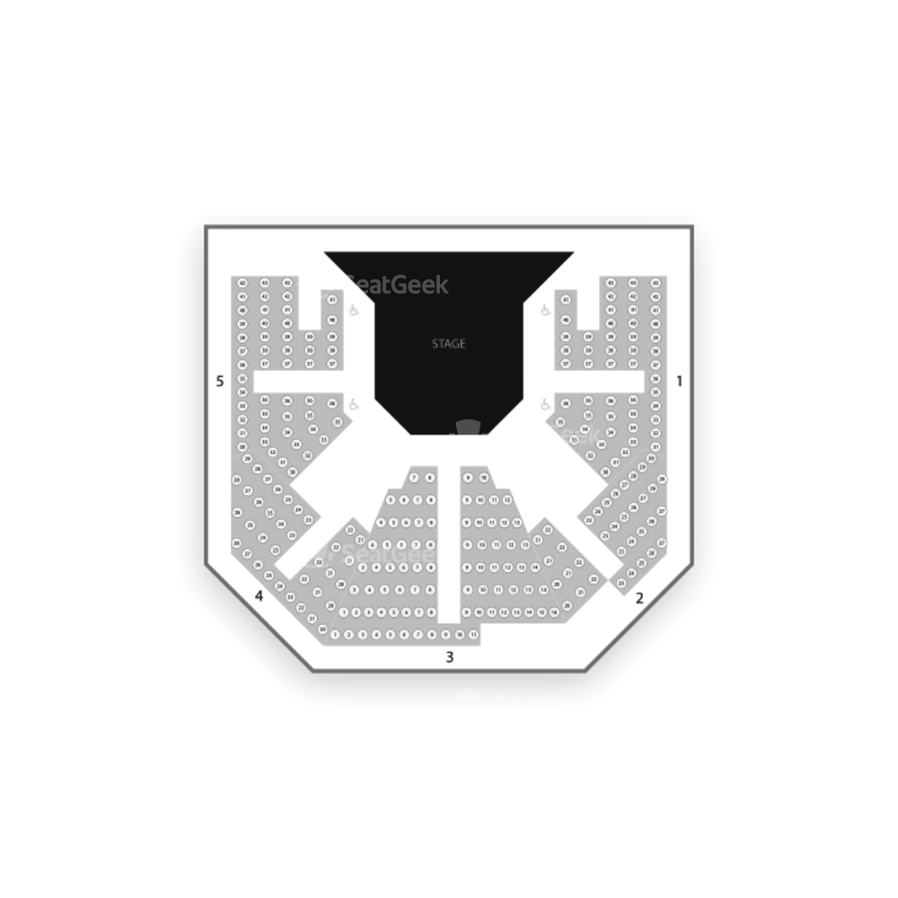 Stratford Studio Theatre Seating Chart Theater