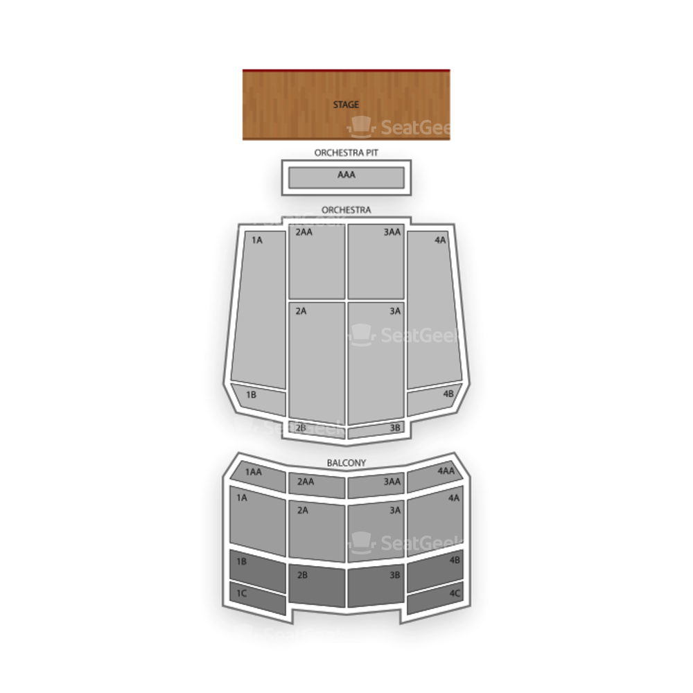 Rialto Square Theatre Seating Chart Seatgeek Black Box Diagram Ucf Charts Concert