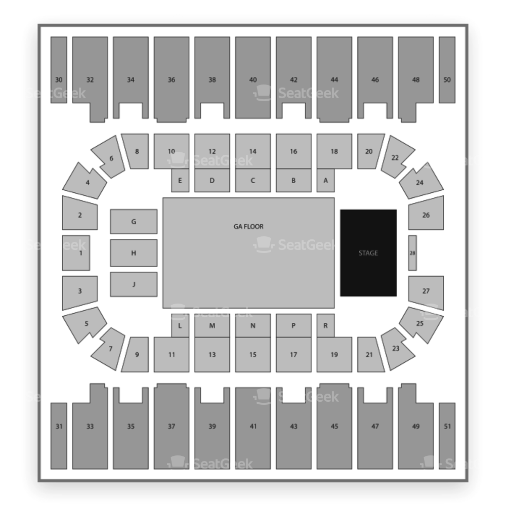 Rimrock Auto Arena at Metrapark Seating Chart Concert