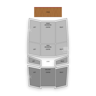 University At Buffalo Center for the Arts Seating Chart Comedy