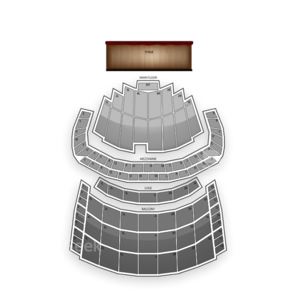 Chicago Theatre Seating Chart Dance Performance Tour
