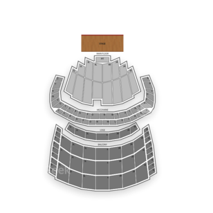 Chicago Theatre Seating Chart Concert