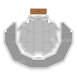 Brady Theater Seating Chart Theater