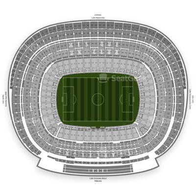 Camp Nou seating chart FC Barcelona