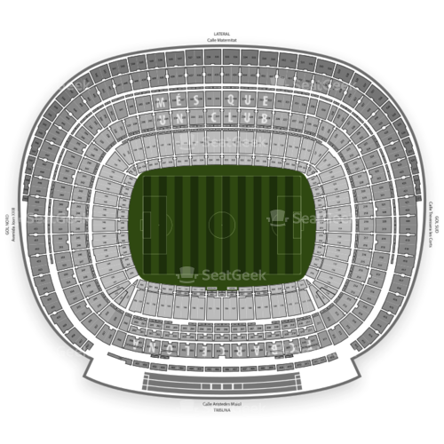 Camp Nou Seating Chart Concert