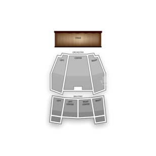 Kentucky Center - Brown Theatre Seating Chart Dance Performance Tour