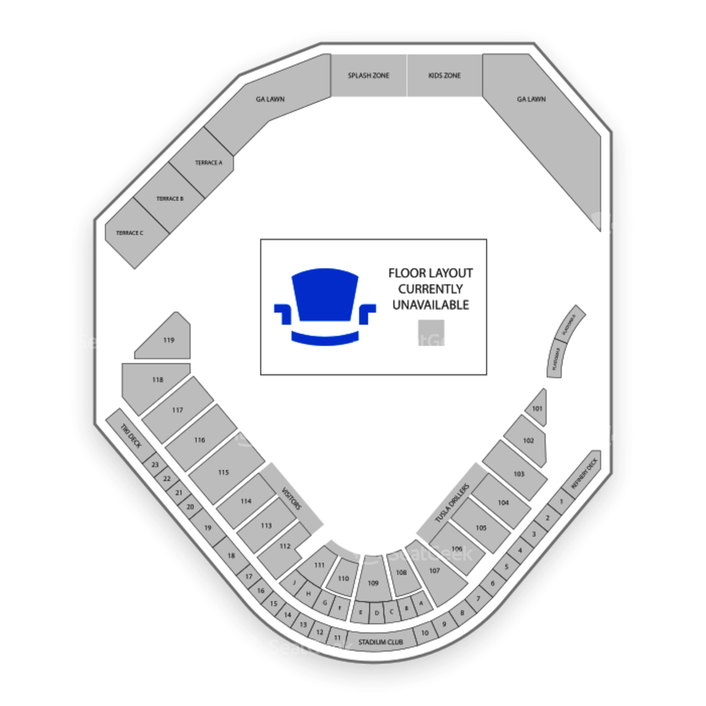 ONEOK Field Seating Chart Concert