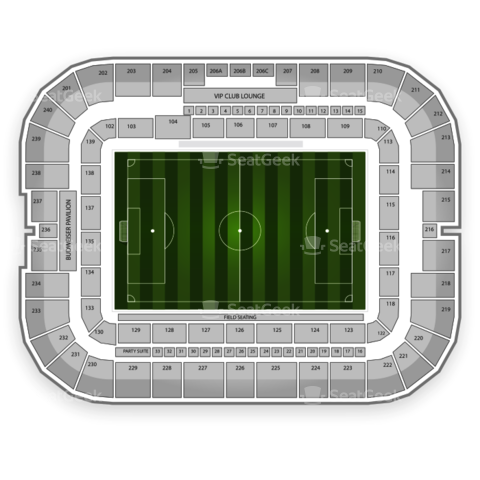 BBVA Compass Stadium seating chart Houston Dynamo