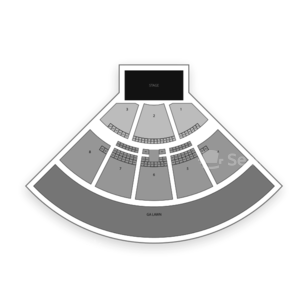 Perfect Vodka Amphitheatre Seating Chart Concert
