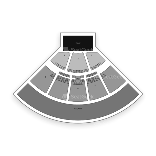 iTHINK Financial Amphitheatre Seating Chart Concert