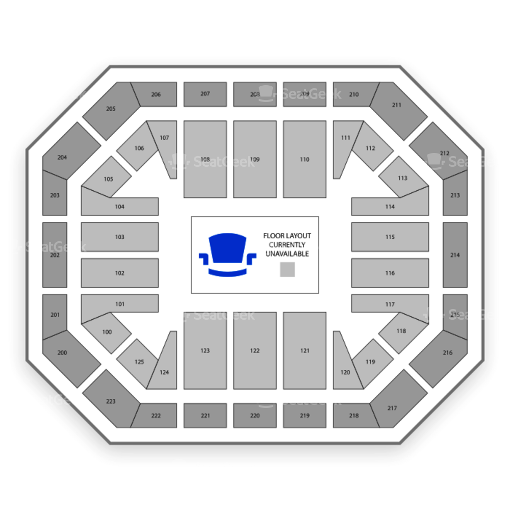 Alaska Airlines Center Seating Chart Concert