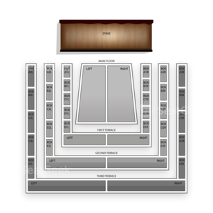 Clowes Memorial Hall Seating Chart Theater