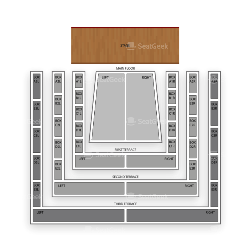 Clowes Memorial Hall Seating Chart Broadway Tickets National