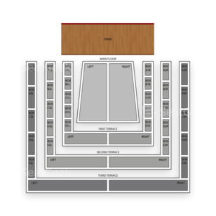 Clowes Memorial Hall Seating Chart Comedy