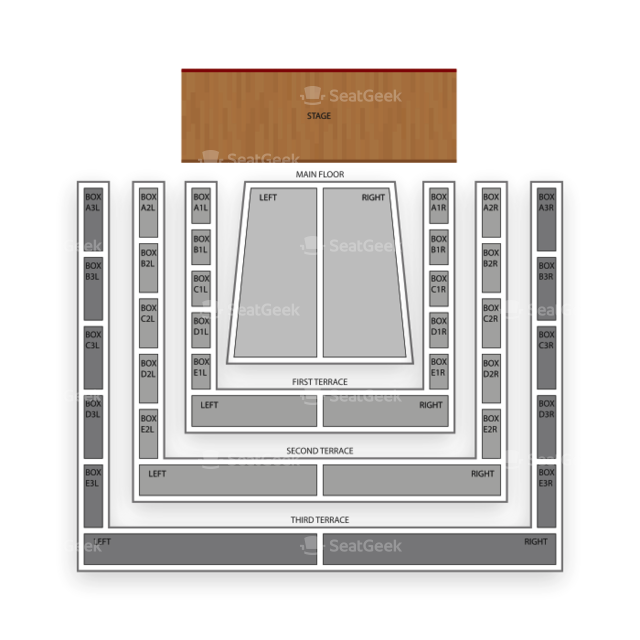 Clowes Memorial Hall Seating Chart Concert