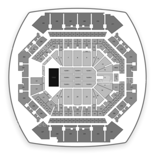 Barclays Center Seating Chart Music Festival