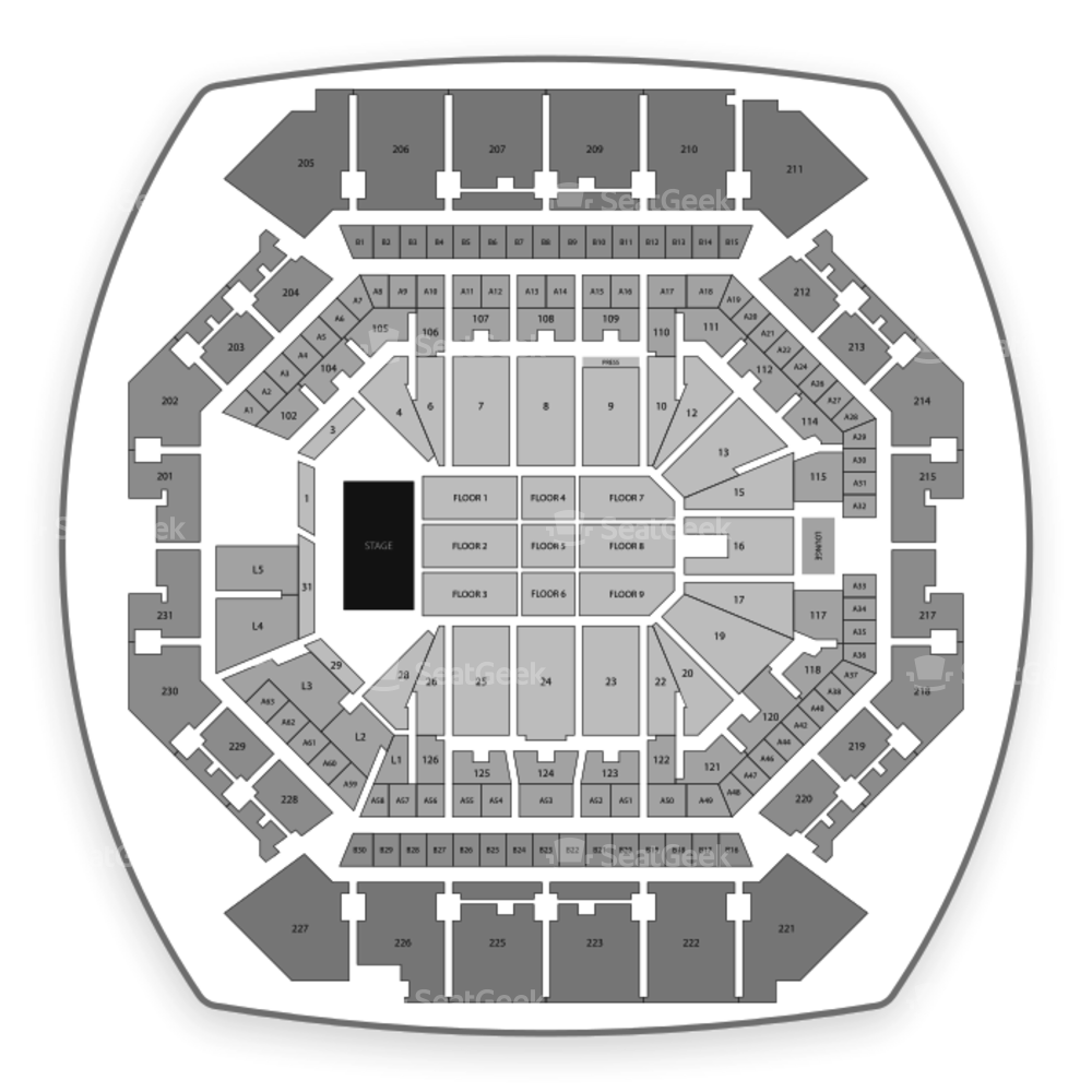 Barclays Center Seating Chart Comedy