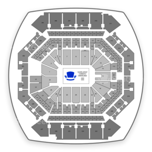 Barclays Center Seating Chart NCAA Football