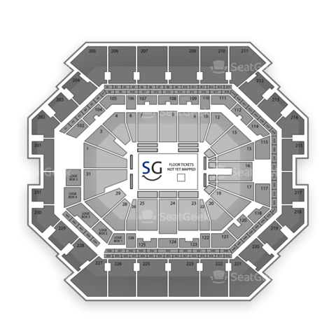 Barclays Center seating chart Beyonce