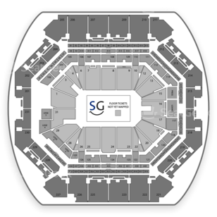 Barclays Center Seating Chart Cirque Du Soleil