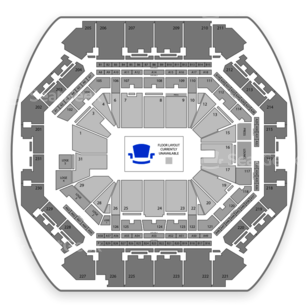 Barclays Center Seating Chart Tennis