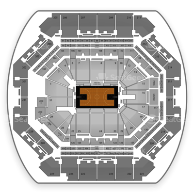 Barclays Center seating chart Brooklyn Nets