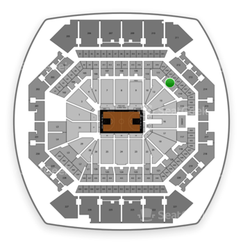 Brooklyn Nets at Barclays Center Section 112 View