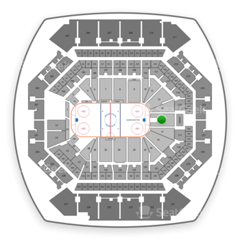 Barclays Center Section 16 Seat Views Seatgeek