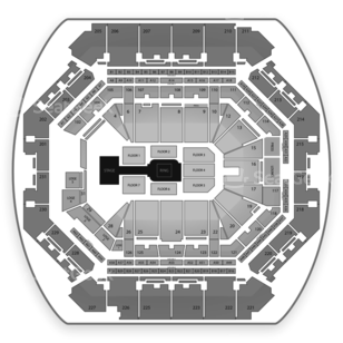 Barclays Center Seating Chart Wrestling