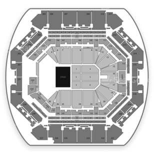 Barclays Center Seating Chart Classical Opera