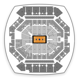 LIU Brooklyn Blackbirds Basketball Seating Chart