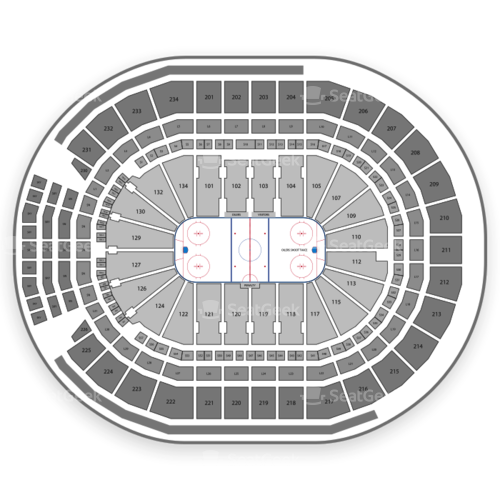 Rogers Place Seating Chart Seatgeek