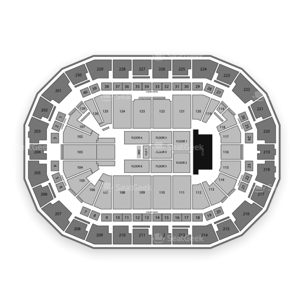 Save Mart Center Seating Chart Concert